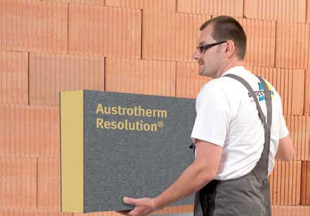 Austrotherm® Resolution Fassade